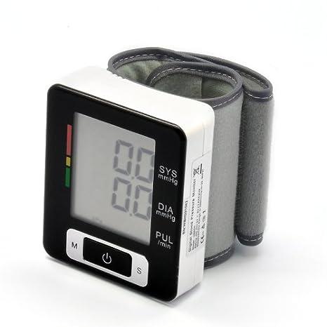 Desconocido Monitor de presión Arterial automático de muñeca (Detector de latidos cardíacos Irregulares, Pantalla
