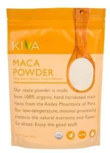 Kiva Organic Maca Powder - Non-GMO, RAW and Vegan (16-Ounce) -- LIMITED TIME SALE PRICE!!