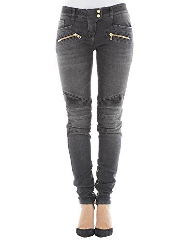 Grigio Donna Balmain Jeans Cotone 995999265nc4800 aIax8wqFv
