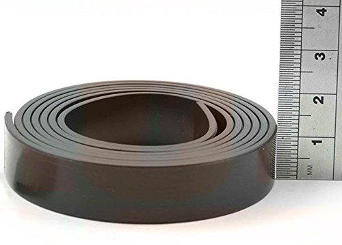 Magnetband selbstklebend mit Premium-Kleber - Magnetisierung TYP B, anisotrop - 1,5mm x 12,7mm x 5m