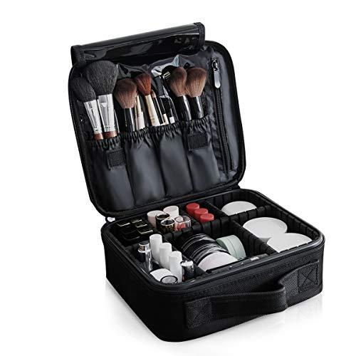 (NICOLE&DORIS Portable Makeup Bag Make Up Organiser Case Cosmetic Bag)