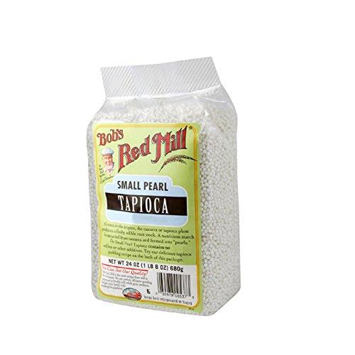 Bobs Red Mill Small Pearl Tapioca - 24 oz - Case of 4 - (Small Pearl Tapioca)