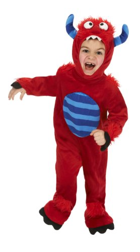 Just Pretend Kids Red Monster Animal Costume, Small