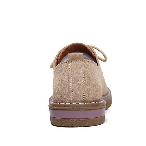Tête Kaki À Plate Et Simples Petite De Basse Femmes Chaussures Mère Pour Sbl Collège Vent xB6XqI