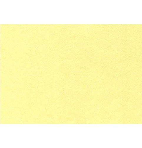 A7 Flat Card (5 1/8 x 7) - Yellow Lemonade (1000 Qty.) by Envelopes Store