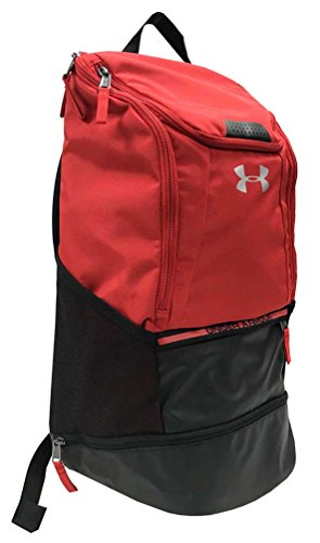 49b53b5e715 Amazon.com  Under Armour UA Striker Soccer Backpack (Black)  Sports    Outdoors
