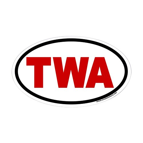 cafepress-twa-with-red-letters-oval-euro-style-sticker-oval-bumper-sticker-euro-oval-car-decal