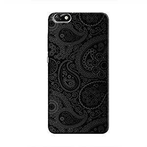 Cover It Up - Dark Curves Wallpaper Honor 4X Hard Case