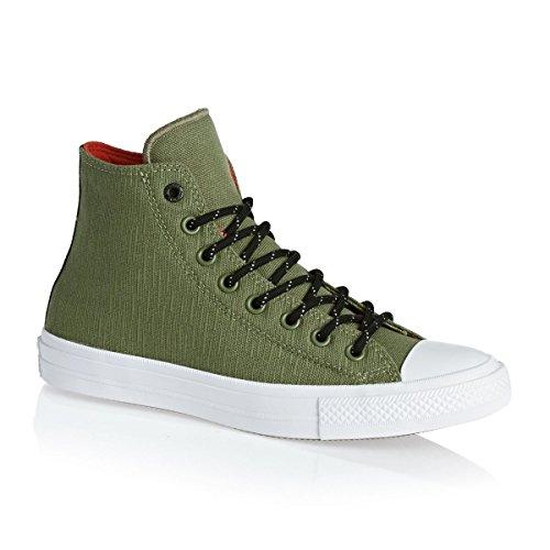 Chuck Converse Red II Unisex Hi Green All Fatige Star Casual Taylor Shoe White Signal FFq51wrx7