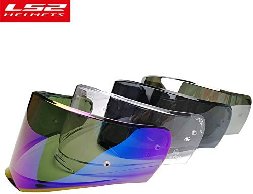 Clear LS2 Helmets FF390 Breaker Road Touring Motorcycle Helmet Visor Face Shield with Pinlock