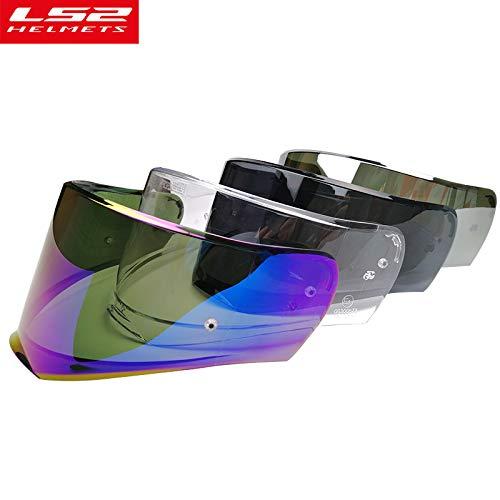 LS2 Anti-Scratch FF390 Breaker Motorcycle Helmet Visor Face Shield (Silver) by LS2 Helmets (Image #2)