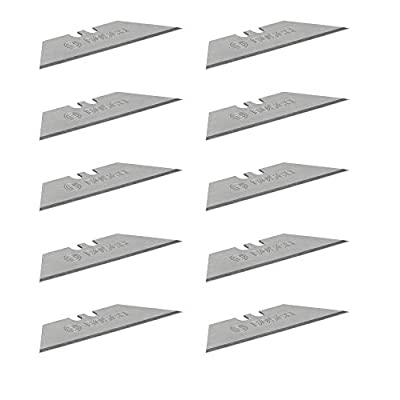 Bosch Professional 10 Replacement Blades (for Folding Knife, in Blister Packaging)