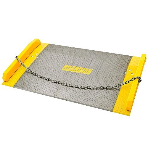 60'' x 36'' Aluminum Dock Board 10,000 lb. Capacity 5'' Rise by Guardian