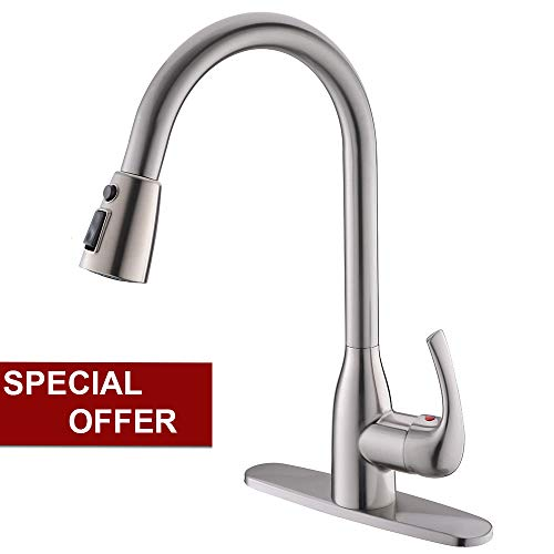 kitchen faucet nickel - 3