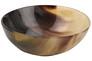 Amazon Com Handicrafts Home Ox Horn Shave Bowl Lathering Up Shaving