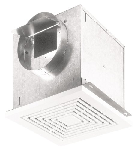 Broan-Nutone  L200  High Capacity Ventilator Fan, Commercial Exhaust Fan, 1.7 Sones, 120V, 210 CFM