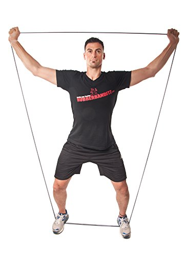Resistance from 5-200 lbs Rubberbanditz 41 Multi-Layered Physical Therapy Resistance Bands Choose from 7 sizes 100/% Premium Latex Continuous Loop PT Bands for Fitness Stretching Exercise Stabilization Toning Rehab Recovery and Prehab