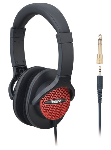 Roland RH-A7 Red And Black Stereo Monitor Headphones