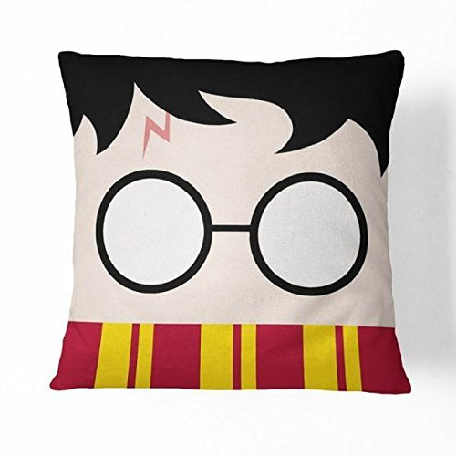 HX-LDS Guse case Funny Harry Potter Cotton Throw Pillow Case ...