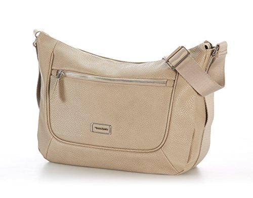 Samsonite Majoris Hobo Bag Borsa Messenger, ABS, Taupe, 35 cm