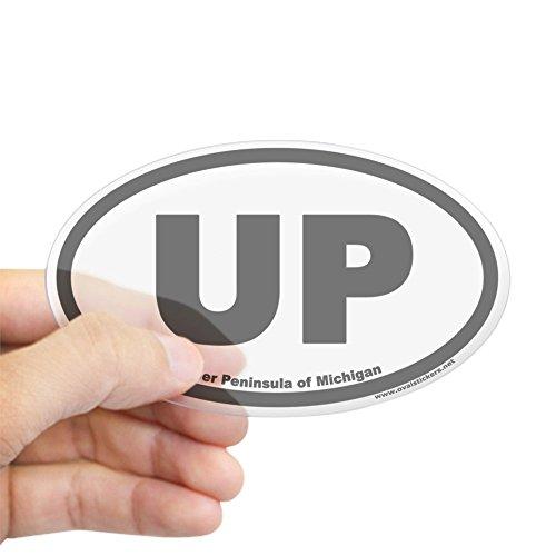cafepress-upper-peninsula-of-michigan-up-euro-oval-sticker-oval-bumper-sticker-euro-oval-car-decal