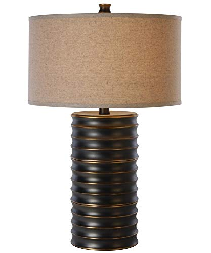 - Trend Lighting TT4080 Wave Ii Table Lamp, Aged Brass Finish