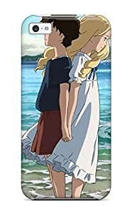 Cute Appearance Cover/tpu BGBJfZm1228nkslF Cartoon Couple From Film When Marnie Was There Case For Iphone 5c
