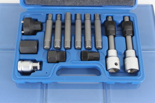 TEMO 13pc Alternator Engine Auto Tool Set Kit for Mercede...