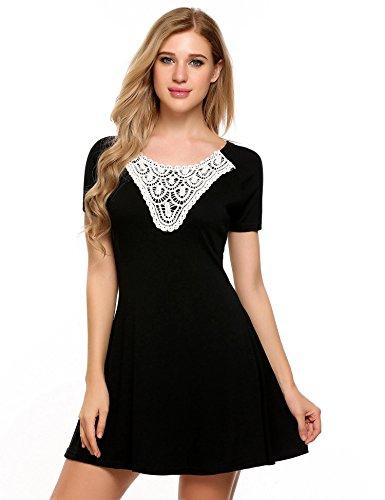 best accessories for scoop neck dress - 2