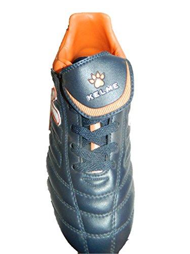 Kelme Chaussures De Football Pour Hommes Couleur Marine Orange