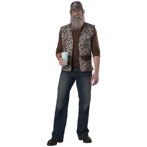 Hillbilly Halloween Costume (InCharacter Costumes Duck Dynasty Uncle Si Costume, Camouflage, One)