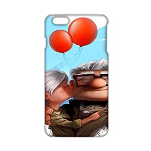 3D Case Cover Cartoon Flying House Phone Case for iPhone6 plus