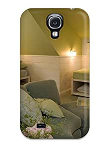 Defender Case With Nice Appearance (kids8217 Room With Cottage Feel And Gray Sofa With Matching Ottoman) For Galaxy S4