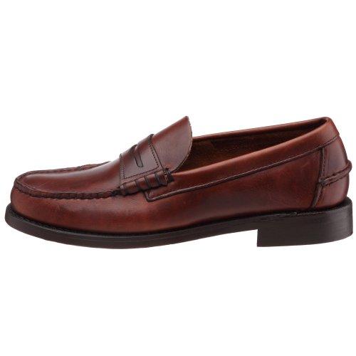 Sebago Classic, Mocasines Hombre Marrón (Brown Oiled Waxy)