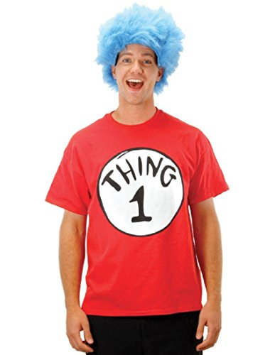 elope Dr Seuss Thing 1 Short Sleeve T-Shirt X-Large