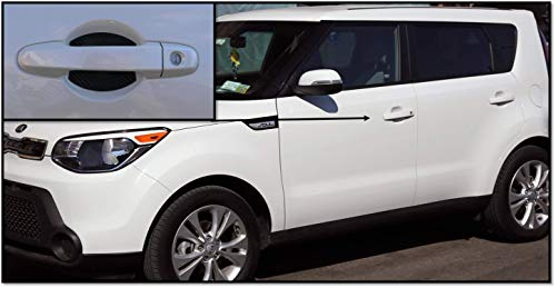 4Pcs Car Door Handle Scratches Protective Films Magnetic Door Handle Cover Guards for Kia Soul Made in USA