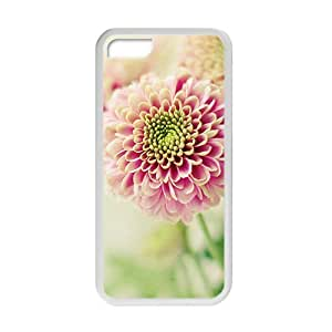 Pink Flower Fashion Personalized Phone Case For Iphone 6 (4.5)