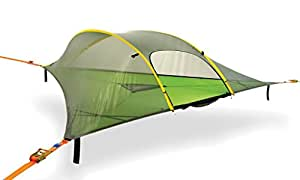 Tentsile Stingray - Suspended Camping Tree House Tent - 3 Person - Blue Rainfly