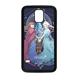 Happy Frozen Princess Elsa and Anna Cell Phone Case for Samsung Galaxy S5
