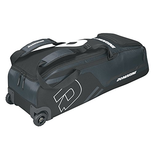 - DeMarini Momentum Wheeled Bag, Charcoal