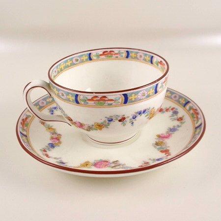 Minton China ROSE Tea Cup & Saucer Set A4807