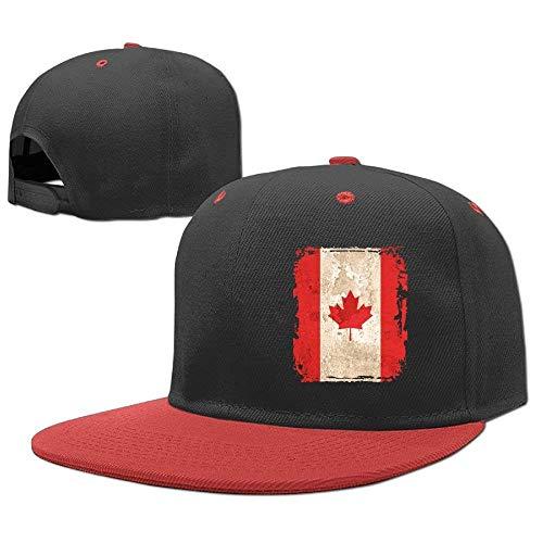 Boy béisbol Hop Flag Girl Hip Baseball Gorras Hat Caps Canadian RGFJJE z45Xq8