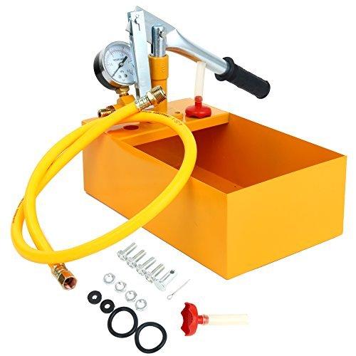 YaeTek Hydraulic Manual Pressure Test Pump Hydro Static 2.5 Mpa 25 Bar & 1/2