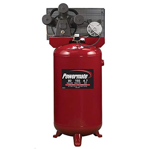 Powermate Vx PLA4708065 80-Gallon Electric Air Compressor