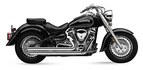 Cobra Speedster Slashdown Exhaust System for Yamaha Cruisers - Yamaha XV1600A Road Star ()