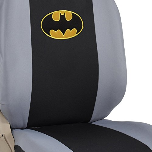 Strange 9Pc Classic Batman Logo Low Back Seat Covers Bench Seat Dailytribune Chair Design For Home Dailytribuneorg