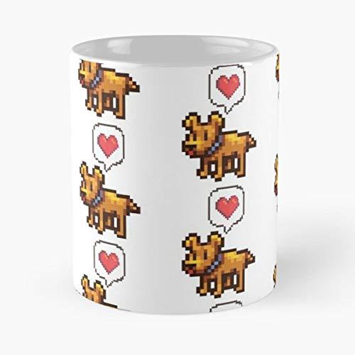 Stardew Valley Stardewvalley Doggo Pupper - Coffee Mug Best Gift 11 Oz Father Day