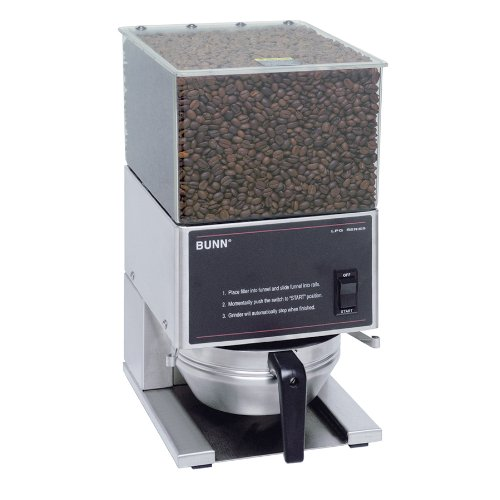 BUNN LPG Low Profile Portion Control Grinder with 1 Hopper by BUNN