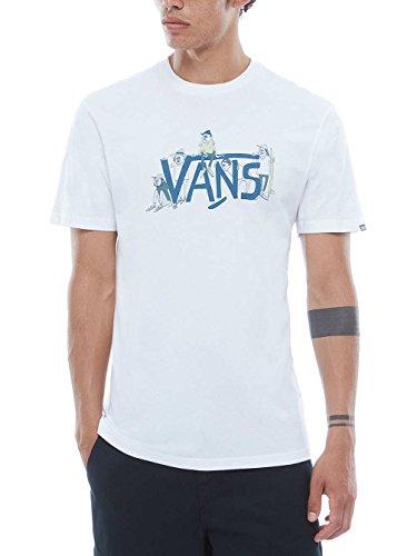 Vans T-Shirt Yusuke Gang Bianco/Blu