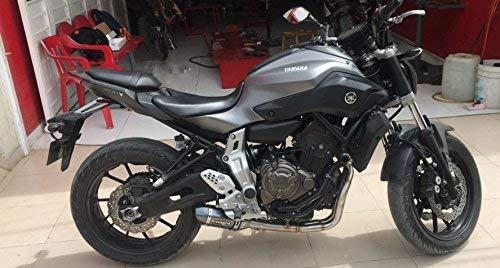 Scarico moto completo per Yamaha MT-07 FZ-07 Tracer 2014-2018 con marmitta XSR700 2016-2017 Model A